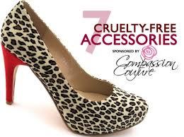 Cruelty free accessories