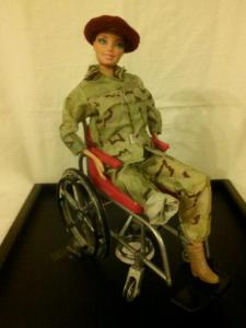 Wounded Warrior Barbie