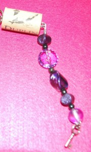 Blog keychain. Royal Purple 3
