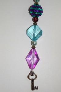 Blog keychain. Royal Purple 4