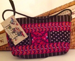 Blog purse multi color design